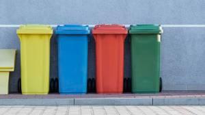 Destinação de resíduos em hospital