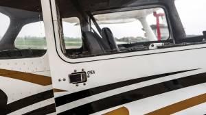 Cessna 172 Flugzeuginspektion