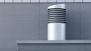 Manutenção de um sistema de ventilação