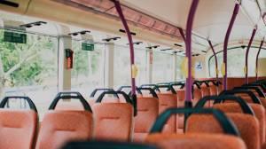 Abfahrtskontrolle Bus