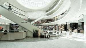Inspección de la limpieza de los centros comerciales