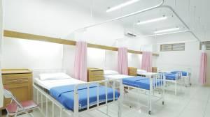 Reinigung im Krankenhaus